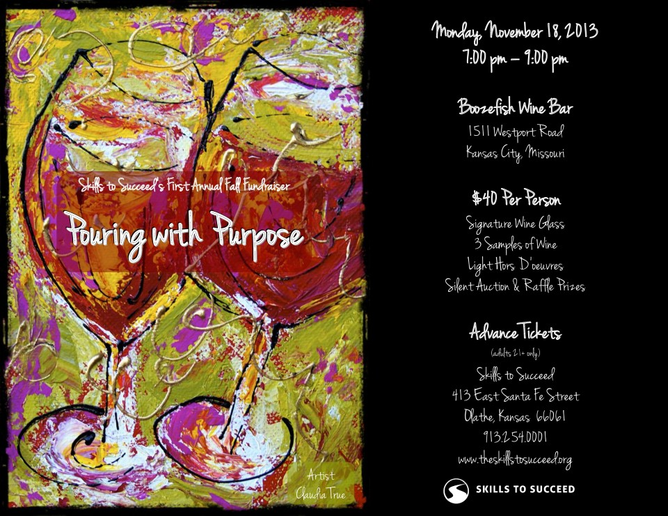 Pouring with Purpose Flyer