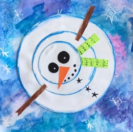 Snowman in Perspective - Jan 7 & 13