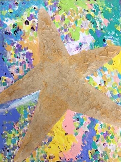 Stunning Starfish - July 11, 13, 18 (BYOB-PM) & 22